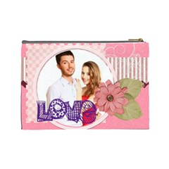 Love By Ki Ki   Cosmetic Bag (large)   Sorb110j242t   Www Artscow Com Back