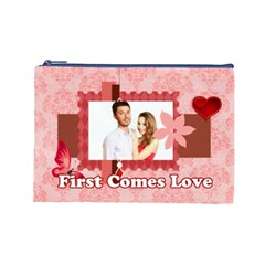 Love By Ki Ki   Cosmetic Bag (large)   Uff5ipnmwi6s   Www Artscow Com Front