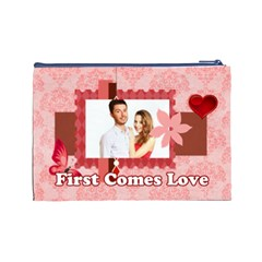 Love By Ki Ki   Cosmetic Bag (large)   Uff5ipnmwi6s   Www Artscow Com Back