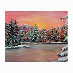 jane s Winter Sunset   By Ave Hurley Of Artrevu   Small Glasses Cloth by ArtRave2
