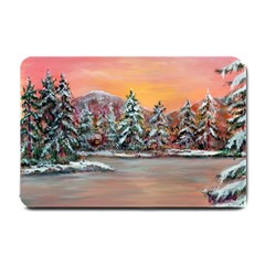 jane s Winter Sunset   By Ave Hurley Of Artrevu   Small Doormat by ArtRave2