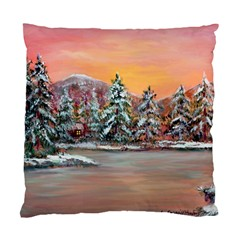 jane s Winter Sunset   By Ave Hurley Of Artrevu   Standard Cushion Case (two Sides) by ArtRave2