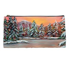 jane s Winter Sunset   By Ave Hurley Of Artrevu   Pencil Case by ArtRave2