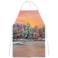 jane s Winter Sunset   By Ave Hurley Of Artrevu   Full Print Apron by ArtRave2