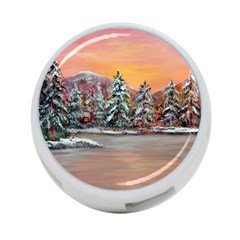 jane s Winter Sunset   By Ave Hurley Of Artrevu   4 Port Usb Hub (one Side) by ArtRave2