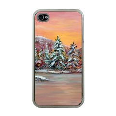 jane s Winter Sunset   By Ave Hurley Of Artrevu   Apple Iphone 4 Case (clear) by ArtRave2