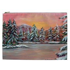 jane s Winter Sunset   By Ave Hurley Of Artrevu   Cosmetic Bag (xxl) by ArtRave2