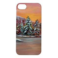 jane s Winter Sunset   By Ave Hurley Of Artrevu   Apple Iphone 5s/ Se Hardshell Case by ArtRave2