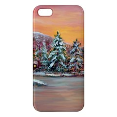 jane s Winter Sunset   By Ave Hurley Of Artrevu   Iphone 5s/ Se Premium Hardshell Case by ArtRave2