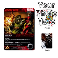 Dcdb Avengers 1 By Mark   Playing Cards 54 Designs   Zmxg4767u1dp   Www Artscow Com Front - Spade3