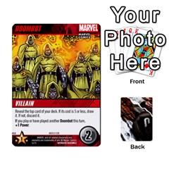 King Dcdb Avengers 1 By Mark   Playing Cards 54 Designs   Zmxg4767u1dp   Www Artscow Com Front - HeartK