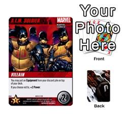 Dcdb Avengers 1 By Mark   Playing Cards 54 Designs   Zmxg4767u1dp   Www Artscow Com Front - Diamond4