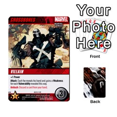 Dcdb Avengers 1 By Mark   Playing Cards 54 Designs   Zmxg4767u1dp   Www Artscow Com Front - Diamond8