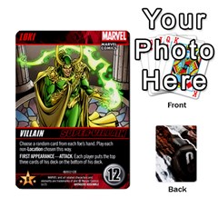 Dcdb Avengers 1 By Mark   Playing Cards 54 Designs   Zmxg4767u1dp   Www Artscow Com Front - Spade6