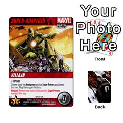 Dcdb Avengers 1 By Mark   Playing Cards 54 Designs   Zmxg4767u1dp   Www Artscow Com Front - Club3