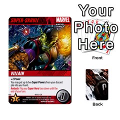 Dcdb Avengers 1 By Mark   Playing Cards 54 Designs   Zmxg4767u1dp   Www Artscow Com Front - Club4