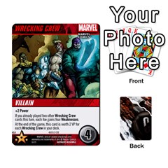 Dcdb Avengers 1 By Mark   Playing Cards 54 Designs   Zmxg4767u1dp   Www Artscow Com Front - Club9