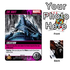 King Dcdb Avengers 1 By Mark   Playing Cards 54 Designs   Zmxg4767u1dp   Www Artscow Com Front - ClubK