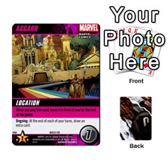 Ace Dcdb Avengers 1 By Mark   Playing Cards 54 Designs   Zmxg4767u1dp   Www Artscow Com Front - ClubA