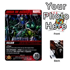 Dcdb Avengers 1 By Mark   Playing Cards 54 Designs   Zmxg4767u1dp   Www Artscow Com Front - Spade10