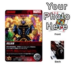 Jack Dcdb Avengers 1 By Mark   Playing Cards 54 Designs   Zmxg4767u1dp   Www Artscow Com Front - SpadeJ