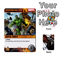 Dcdb Avengers 2 By Mark   Playing Cards 54 Designs   27jtnrs7ay16   Www Artscow Com Front - Spade2