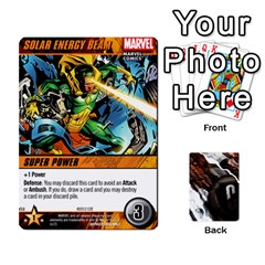 King Dcdb Avengers 2 By Mark   Playing Cards 54 Designs   27jtnrs7ay16   Www Artscow Com Front - HeartK