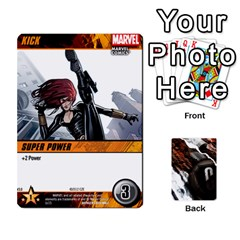 Dcdb Avengers 2 By Mark   Playing Cards 54 Designs   27jtnrs7ay16   Www Artscow Com Front - Diamond6