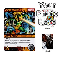 Dcdb Avengers 2 By Mark   Playing Cards 54 Designs   27jtnrs7ay16   Www Artscow Com Front - Spade6