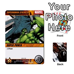 Dcdb Avengers 2 By Mark   Playing Cards 54 Designs   27jtnrs7ay16   Www Artscow Com Front - Spade8