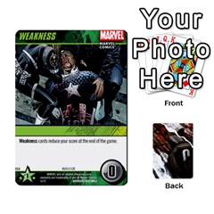 Dcdb Avengers 3 By Mark   Playing Cards 54 Designs   N6h1537o1u3x   Www Artscow Com Front - Spade3