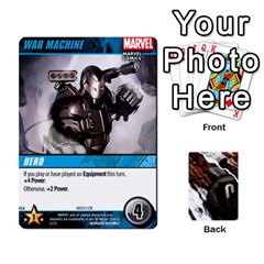 Dcdb Avengers 3 By Mark   Playing Cards 54 Designs   N6h1537o1u3x   Www Artscow Com Front - Heart8