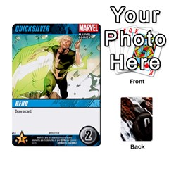 Dcdb Avengers 3 By Mark   Playing Cards 54 Designs   N6h1537o1u3x   Www Artscow Com Front - Diamond3