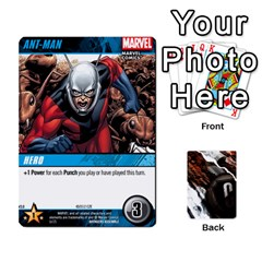Dcdb Avengers 3 By Mark   Playing Cards 54 Designs   N6h1537o1u3x   Www Artscow Com Front - Diamond9