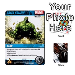 Ace Dcdb Avengers 3 By Mark   Playing Cards 54 Designs   N6h1537o1u3x   Www Artscow Com Front - DiamondA