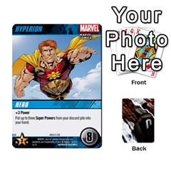 Dcdb Avengers 3 By Mark   Playing Cards 54 Designs   N6h1537o1u3x   Www Artscow Com Front - Club2