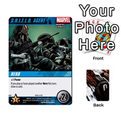 Dcdb Avengers 3 By Mark   Playing Cards 54 Designs   N6h1537o1u3x   Www Artscow Com Front - Club6