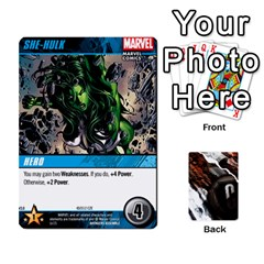 Dcdb Avengers 3 By Mark   Playing Cards 54 Designs   N6h1537o1u3x   Www Artscow Com Front - Club8