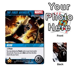 Dcdb Avengers 3 By Mark   Playing Cards 54 Designs   N6h1537o1u3x   Www Artscow Com Front - Club9