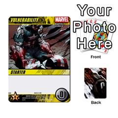 Jack Dcdb Avengers 3 By Mark   Playing Cards 54 Designs   N6h1537o1u3x   Www Artscow Com Front - SpadeJ