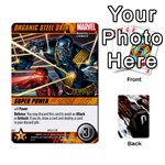 DCDB Xmen 1 - Playing Cards 54 Designs