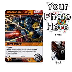 Dcdb Xmen 1 By Mark   Playing Cards 54 Designs   F1c5qgnpxx4s   Www Artscow Com Front - Spade3