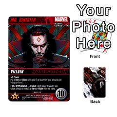 Dcdb Xmen 1 By Mark   Playing Cards 54 Designs   F1c5qgnpxx4s   Www Artscow Com Front - Heart8