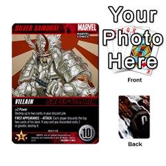 Dcdb Xmen 1 By Mark   Playing Cards 54 Designs   F1c5qgnpxx4s   Www Artscow Com Front - Heart9