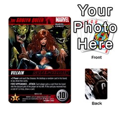Jack Dcdb Xmen 1 By Mark   Playing Cards 54 Designs   F1c5qgnpxx4s   Www Artscow Com Front - HeartJ