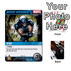 Ace Dcdb Xmen 3 By Mark   Playing Cards 54 Designs   Pn84muycqu58   Www Artscow Com Front - SpadeA