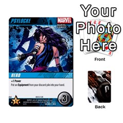 Dcdb Xmen 3 By Mark   Playing Cards 54 Designs   Pn84muycqu58   Www Artscow Com Front - Heart8