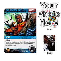 Ace Dcdb Xmen 3 By Mark   Playing Cards 54 Designs   Pn84muycqu58   Www Artscow Com Front - HeartA