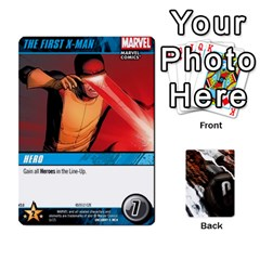 Dcdb Xmen 3 By Mark   Playing Cards 54 Designs   Pn84muycqu58   Www Artscow Com Front - Diamond7