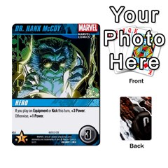 Dcdb Xmen 3 By Mark   Playing Cards 54 Designs   Pn84muycqu58   Www Artscow Com Front - Diamond8